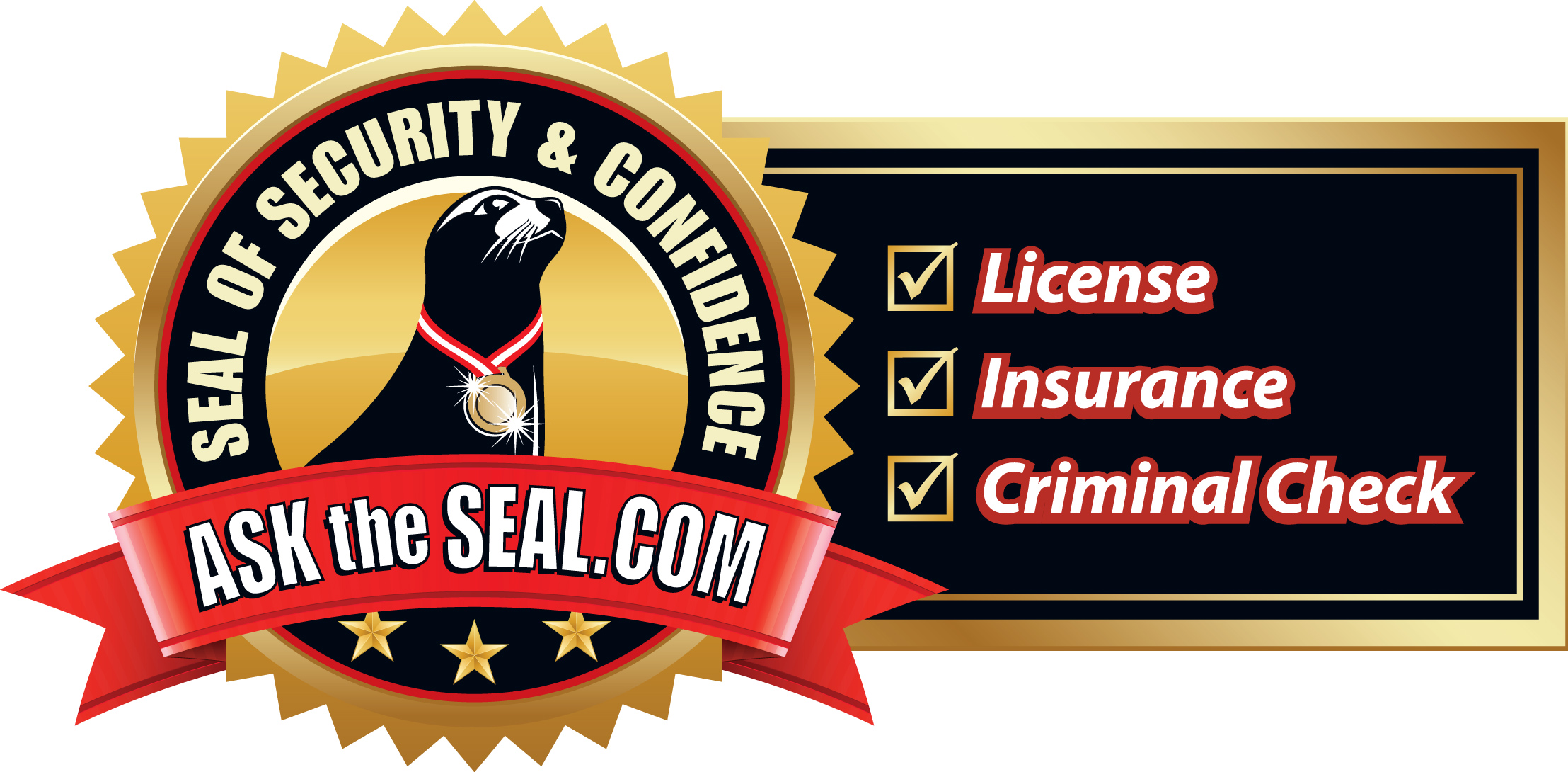 Seal Of Security Logo W
